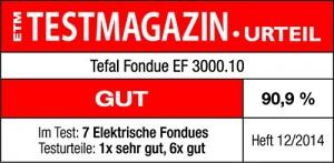 Tefal EF 3000.10 Fondue 1200 Watt